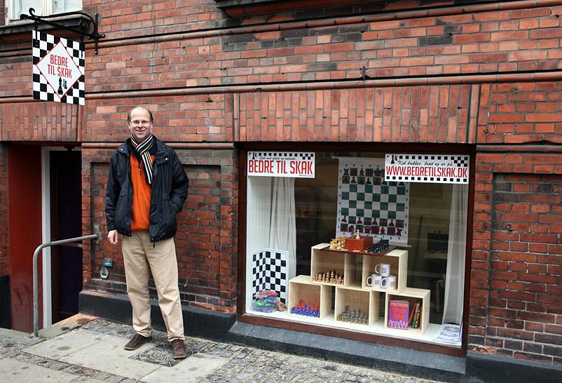 Skakbutikken på Frederiksberg.