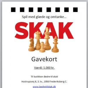 Gavekort1000kr